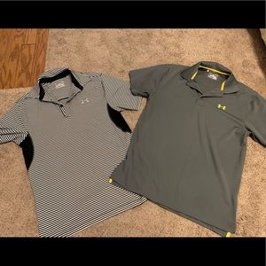 Men's Under Armour Collared Golf Shirts